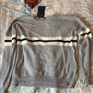 NWT brandy melville striped sweater